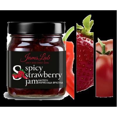 Spicy Μαρμελάδα Φράουλα Jams Lab