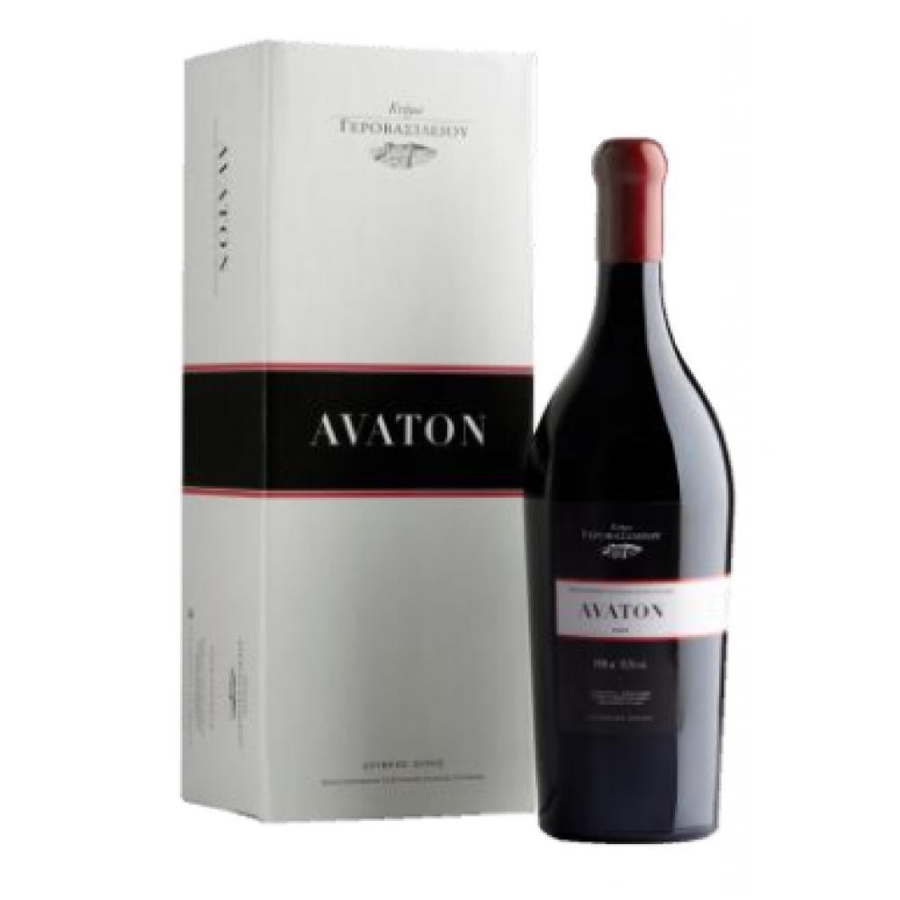 Κρασί Γεροβασιλείου Avaton Eρυθρό MGN 1500ml