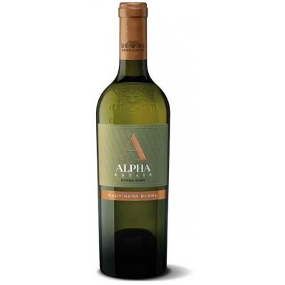Sauvignon Blanc Αλφα 2019 - Λευκό